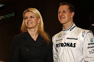 La esposa de Schumacher se confiesa en una entrevista