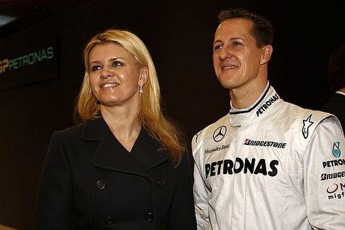 La mujer de Michael Schumacher rompe su silencio