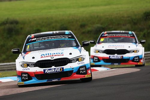 BTCC pegs back performance of new BMW 3 Series