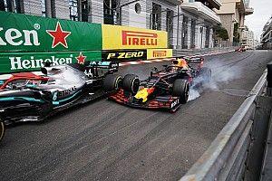 Убойные фото борьбы Хэмилтона и Ферстаппена в Монако сделал Мистер Авария