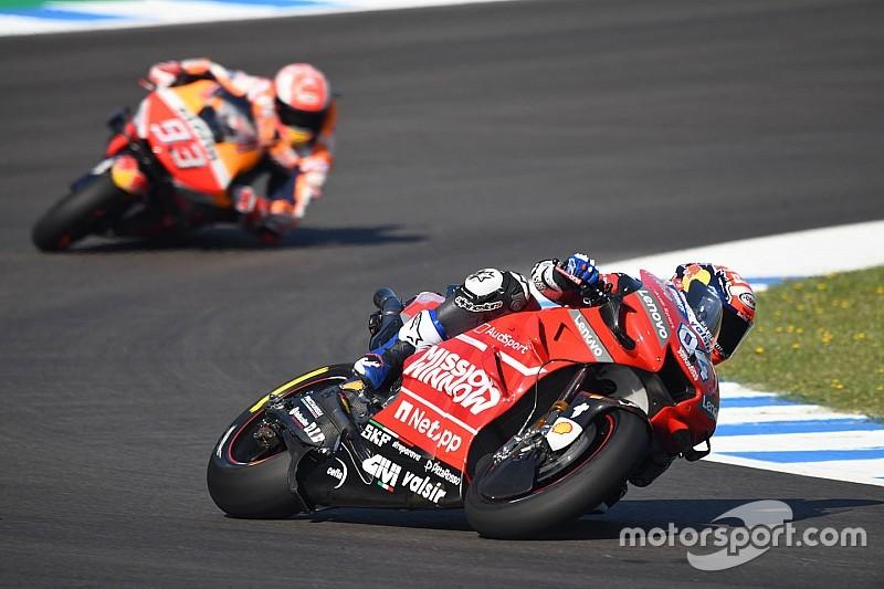 """Dovizioso : Trop tôt pour prévoir la course, """"surtout avec certains pilotes"""""""