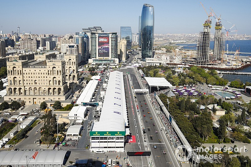 Comment Bakou espère revenir au calendrier F1 2020