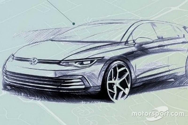 Новий Volkswagen Golf з'явився на офіційних зображеннях