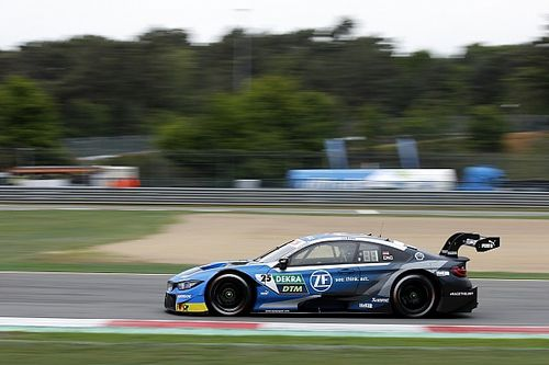 """DTM-Training Zolder: BMW-Pilot Eng holt bei """"heimlichem"""" Heimspiel Bestzeit"""