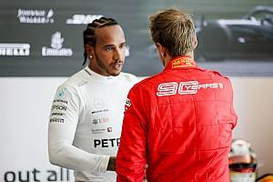 """Amikor Vettel és Hamilton """"szimbiózisban"""" van egymással: szép munka!"""