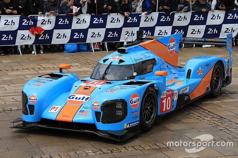 DragonSpeed met legendarische Gulf-livery aan de start in Le Mans