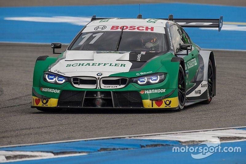 Hockenheim DTM: Wittmann fends off Audis to win opener