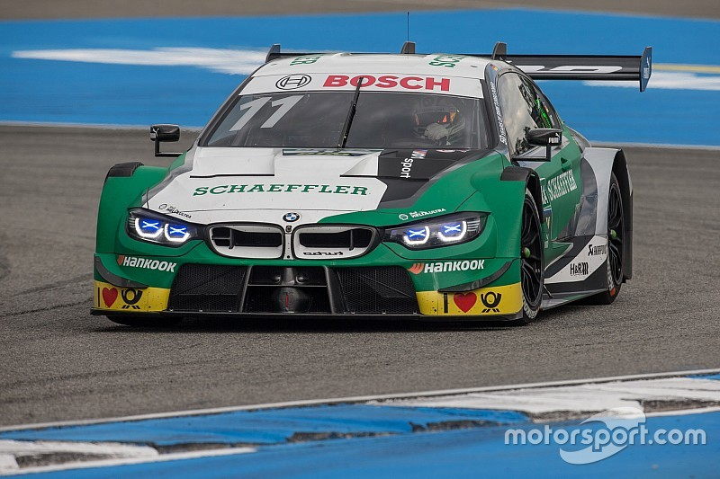 Hockenheim DTM: Wittmann fends off Audis to win opener
