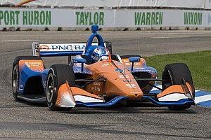 Диксон выиграл воскресную гонку IndyCar в Детройте, Эрикссон завоевал первый подиум