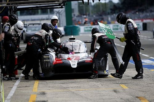 Toyota explains why it didn't change all #7 car's tyres