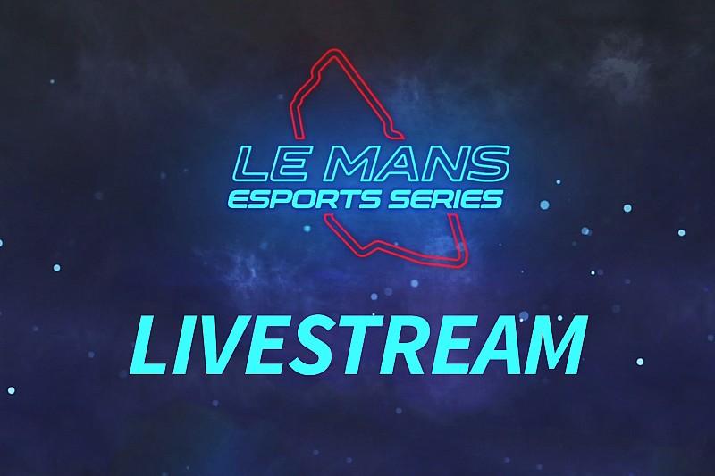 Suivez en direct la super finale des Le Mans Esports Series!
