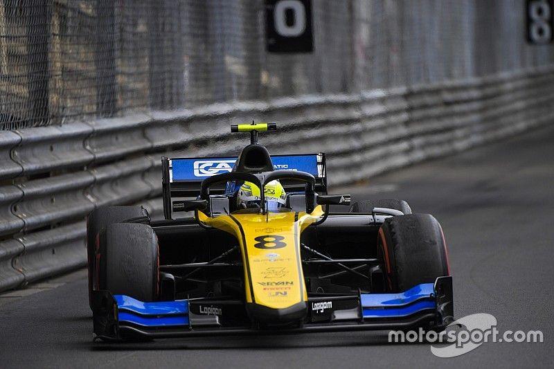Luca Ghiotto, excluido de la Carrera 1 en Mónaco