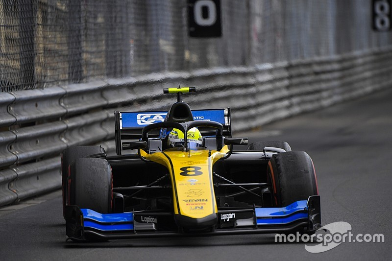 Ghiotto stripped of podium finish in Monaco race