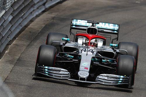 摩纳哥大奖赛排位赛:汉密尔顿力压博塔斯摘杆位,莱克勒克Q1出局