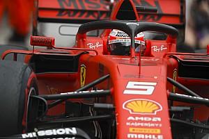 """Vettel: """"Abbiamo sfruttato il contatto Verstappen-Bottas a nostro vantaggio"""""""