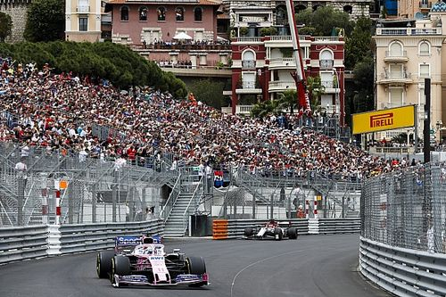 GP de Monaco - Les vitesses de pointe