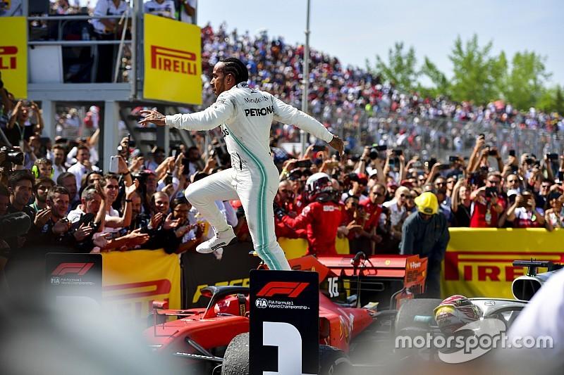 Hamilton se lleva una polémica victoria en Canadá
