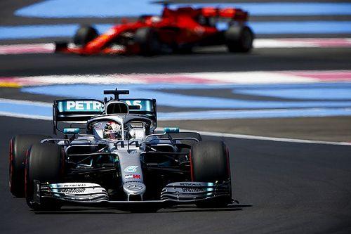 "Hamilton : ""Les Ferrari seront proches"" au Red Bull Ring"