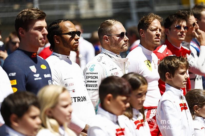 Veja como está o grid da Fórmula 1 para 2020