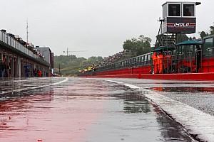 Cancelada la tercera carrera de Imola por la lluvia