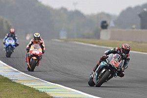 Quartararo logró la vuelta rápida en Le Mans con el modo de clasificación