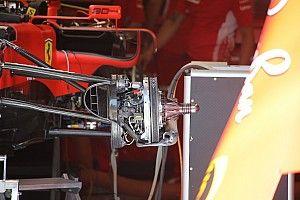Fotos: los detalles de los coches de F1 actualizados para Austria