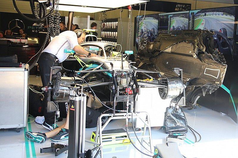 Alerte moteur sur la Mercedes de Bottas en Autriche