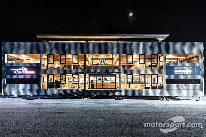 In beeld: Het nieuwe 'Holzhaus' van Red Bull Racing