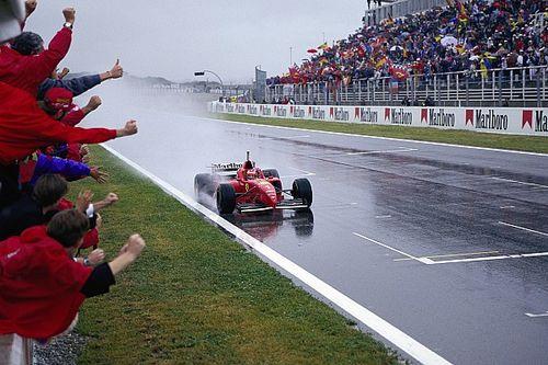 C'était un 2 juin: le premier succès de Schumacher avec Ferrari