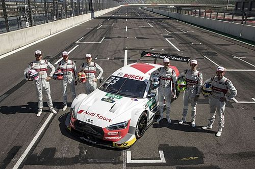 Audi confirms unchanged DTM line-up for 2020