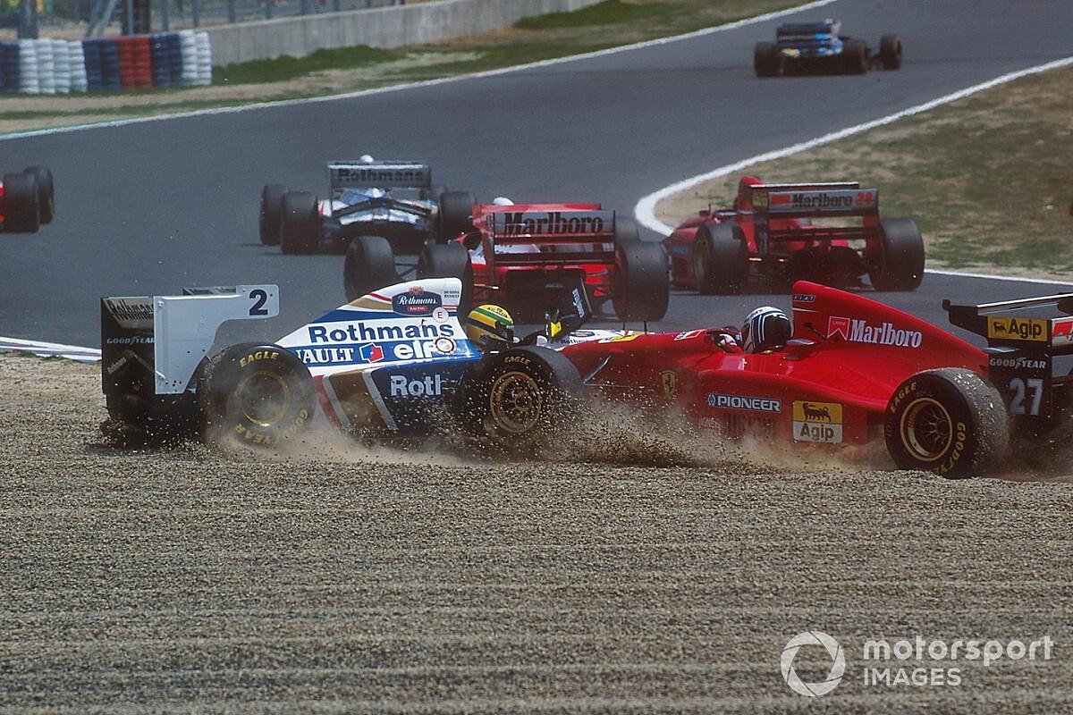 I sospetti di Senna sulla Benetton nati col ritiro nel GP del Pacifico