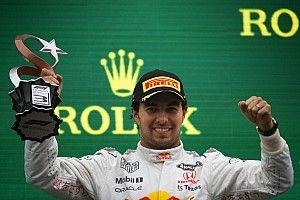 Pérez y su podio en Turquía: necesitaba un resultado así
