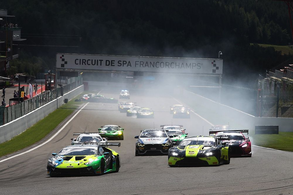 British GT and British F3 put on a show during annual visit to Spa