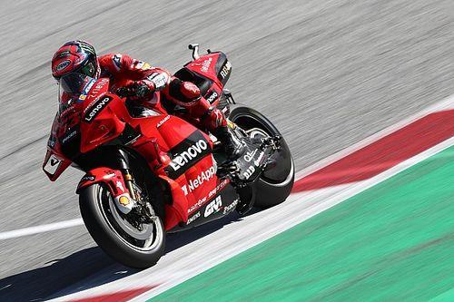 Styrian MotoGP: Bagnaia tops FP3; Quartararo, Vinales nearly collide