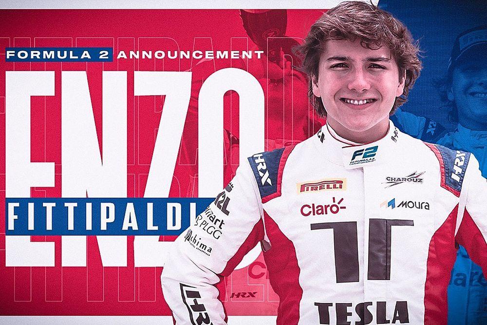 Enzo Fittipaldi Amankan Kursi F2 bersama Charouz Racing