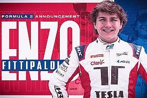 Enzo Fittipaldi llega a la Fórmula 2 con Charouz