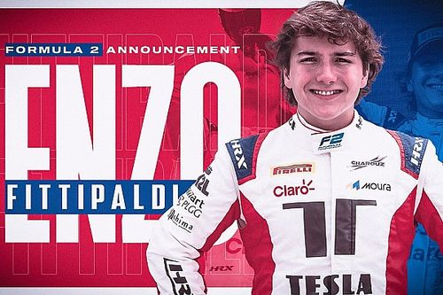 Enzo Fittipaldi secures Formula 2 graduation with Charouz