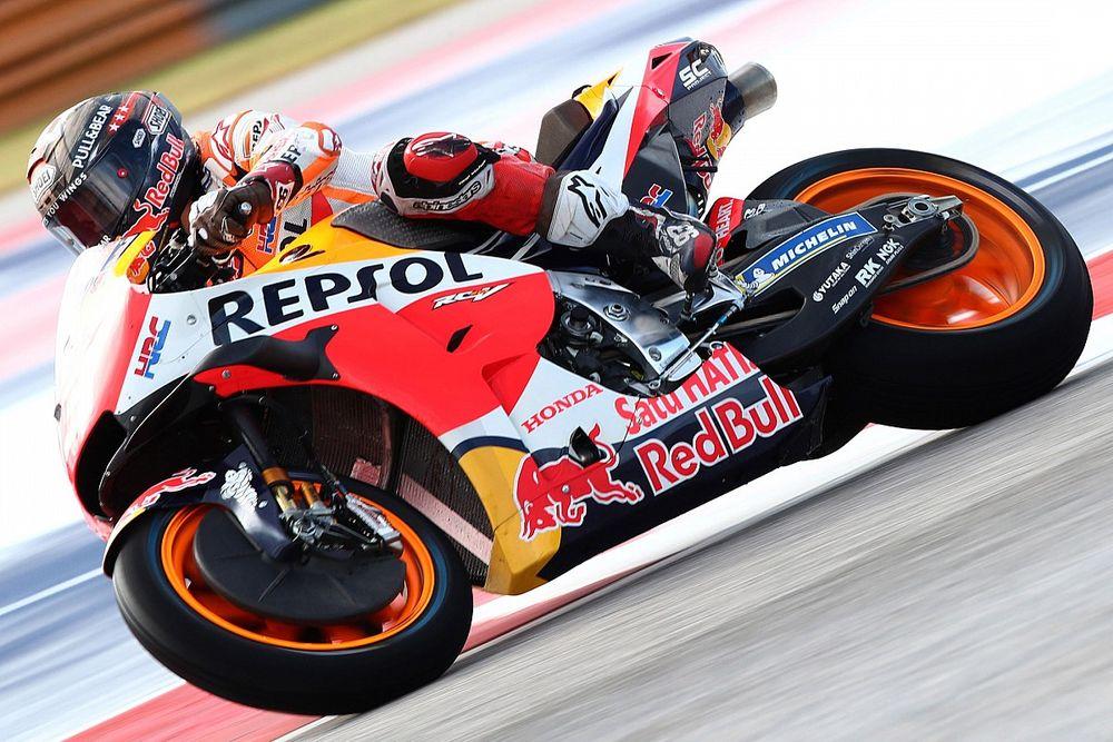 Hasil FP2 MotoGP Amerika: Marquez Tercepat di Trek Basah-Kering COTA