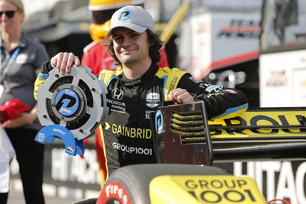 インディカー:初開催ナッシュビルでハータが圧巻の0.5秒差ポールポジション。佐藤琢磨は予選24番手に沈む