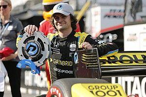 Herta en pole, Grosjean 5e à Nashville