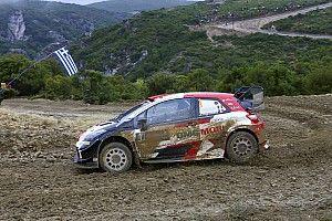 WRC, Rally Acropoli, PS5; Ogier si avvicina a Rovanpera
