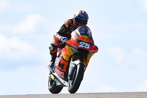 Moto2, Austin, Libere 2: Fernandez concede il bis davanti a Gardner