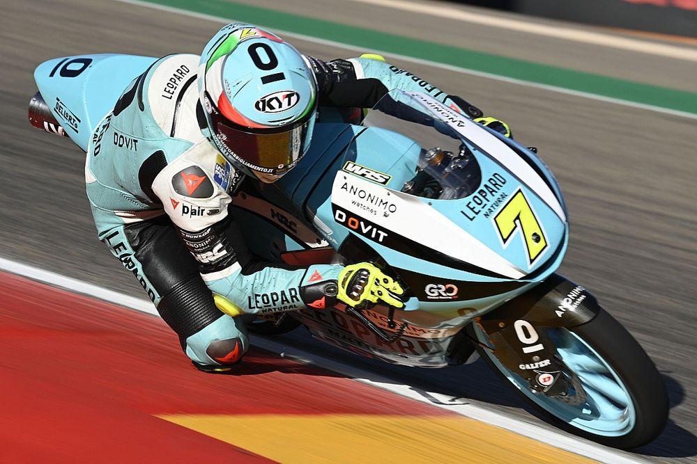 Hasil FP3 Moto3 Aragon: Dennis Foggia Pertajam Catatan Waktu