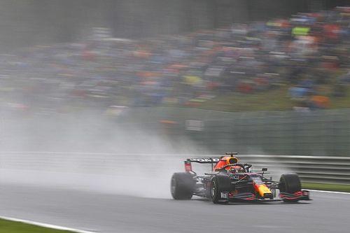 Hasil FP3 F1 GP Belgia: Duo Red Bull Terkuat di Trek Basah