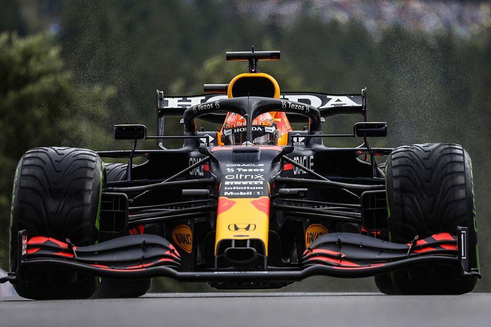 比利时大奖赛排位赛:维斯塔潘在雨战中打碎拉塞尔首杆希望