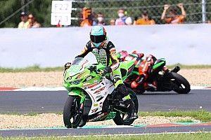 Magny-Cours Supersport 300 1. Yarış: Huertas kazandı, Bahattin 4 tur kala kazaya karıştı!