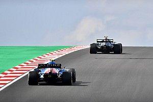 De startopstelling voor de F1 Grand Prix van Turkije