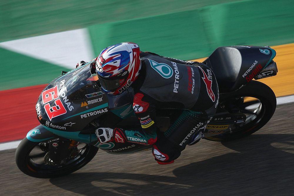 Debut Mengesankan Syarifuddin Azman di Moto3 Aragon