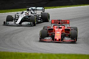 """Hamilton: """"Superare la Ferrari? Difficile con meno potenza"""""""