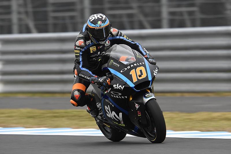 Moto2日本決勝:マリーニ2連勝。長島は歯車噛み合わず転倒リタイア